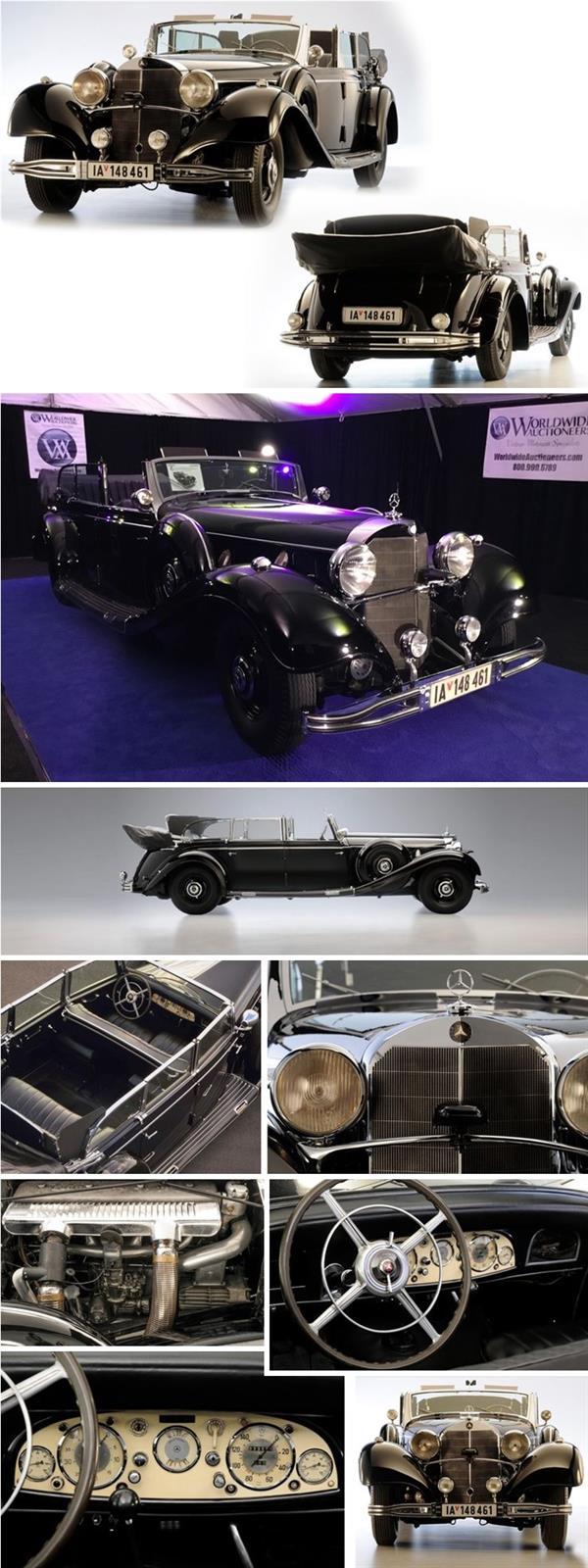 سيارة هتلر معروضة للبيع في مزاد أمريكي