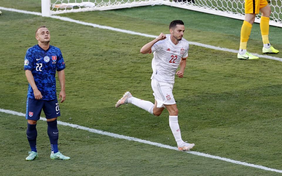 إسبانيا تضرب سلوفاكيا بخماسية وتتأهل لدور الـ 16 بيورو 2020 (فيديو وصور)