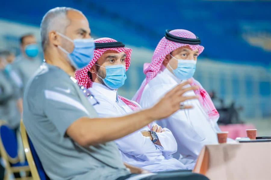 """الفيصل"""" يزور معسكر المنتخب الوطني"""