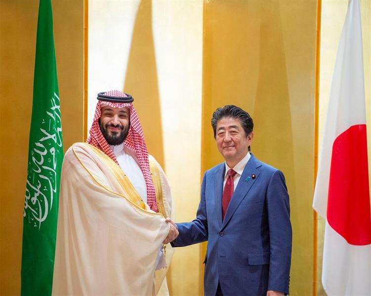 نتيجة بحث الصور عن ولي العهد خلال لقائه رئيس الوزراء الياباني: اليابان دولة عزيزة على قلوب كل السعوديين