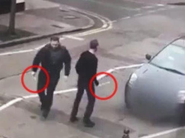 الارهابيون الذين هاجموا المسجد في لندن
