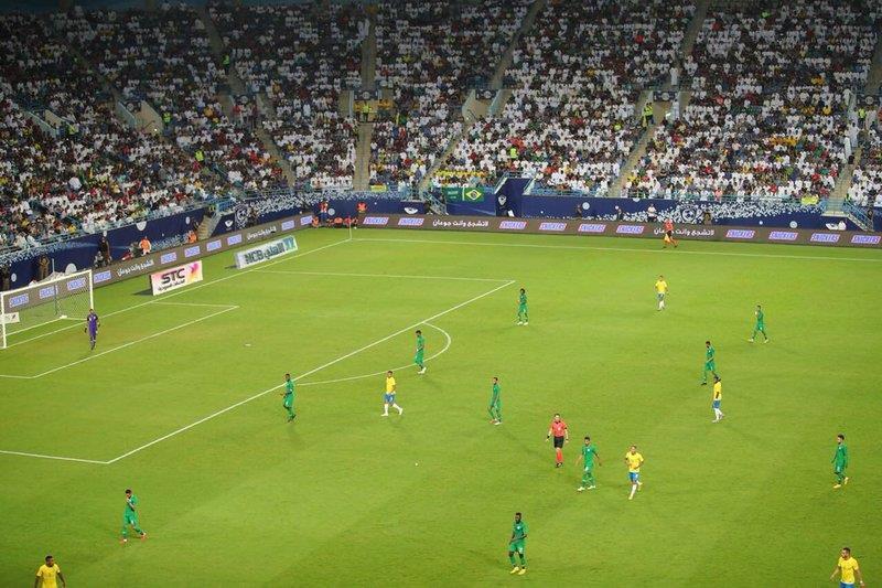 فودة: هدف البرازيل الأول في مرمى السعودية تسلل