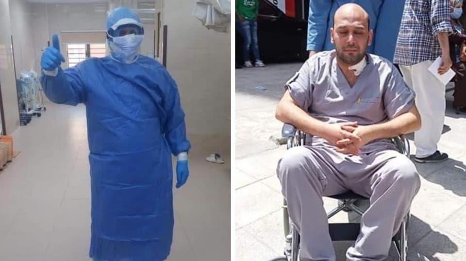 """طبيب مصري يفقد بصره أثناء علاجه مصابي """"كورونا"""""""