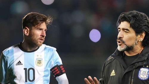 مارادونا يهاجم ميسي: لا يصلح لأن يكون قائداً.. فهو يدخل دورة المياه 20 مرة