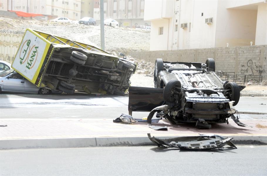 """شرطة مكة تصدر بيانا حول واقعة """"سائق الشيول"""".. وتكشف جنسيته وعدد السيارات المتضررة"""