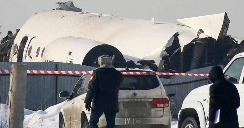 الكارثة الجوية في كازاخستان