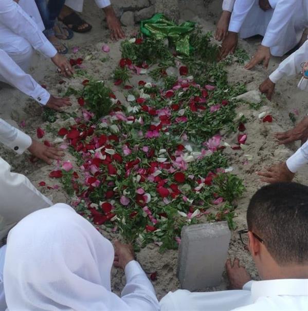 تشيع جثمان باقر