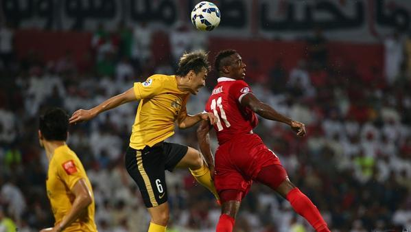 """أهلي دبي في مواجهة شرسة مع """"غوانزو"""" على لقب دوري أبطال آسيا"""