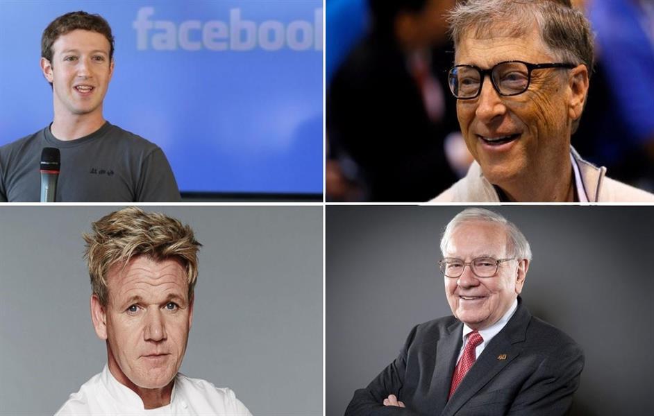 10 أثرياء قرروا منع أبنائهم من الإرث ، 3 منهم تجاوزت ثروتهم 300 مليار دولار