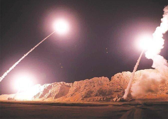 هجوم صاروخي على قاعدة تضم قوات أميركية في الأنبار
