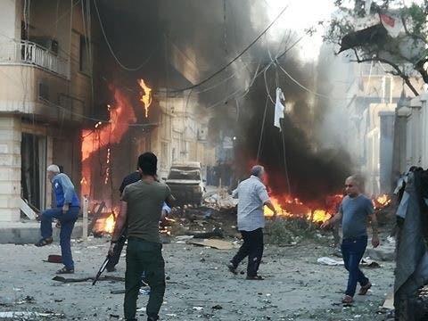 انفجار سيارة مفخخة قرب كنيسة في القامشلي بسوريا