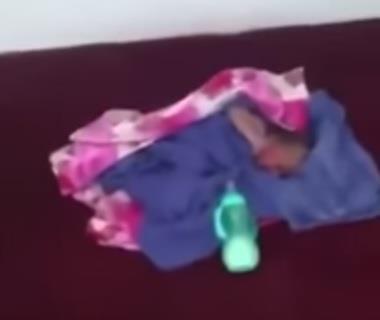 عامل نظافة يعثر على رضيع حديث الولادة داخل صندوق نفايات بشقراء