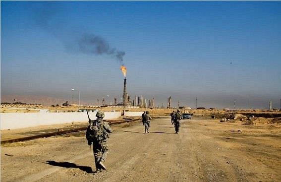 عناصر داعش تنسحب من محيط مصفاة بيجي العراقية