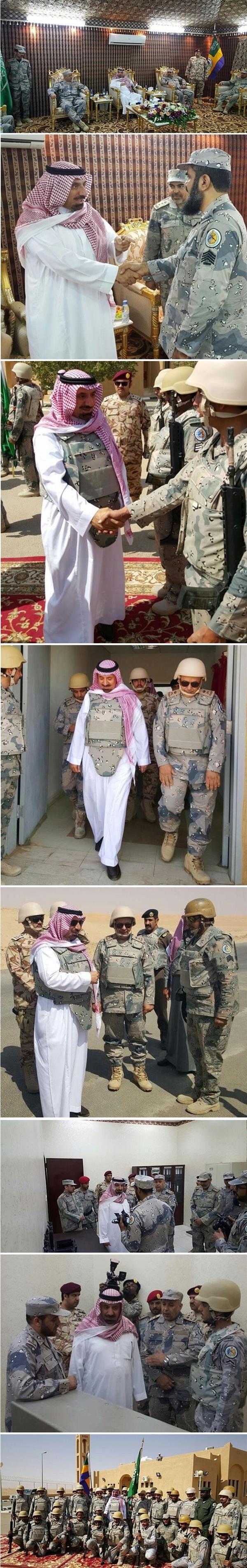 أمير منطقة نجران ينقل تحيات القيادة لرجال حرس الحدود