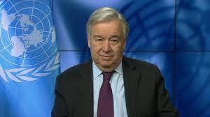 الأمين العام للأمم المتحدة أنطونيو غوتيريِش