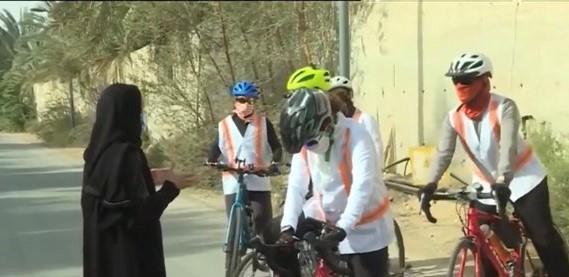 8 جدات متقاعدات يمارسن رياضة ركوب الدراجات الهوائية