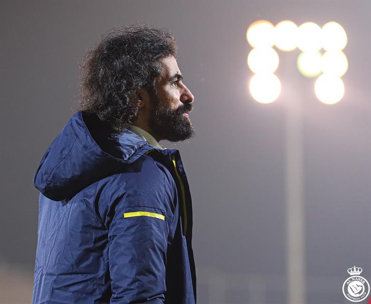 """الظهور الأول لـ """"عبدالغني"""" كمدير كرة بالنصر (صور)"""
