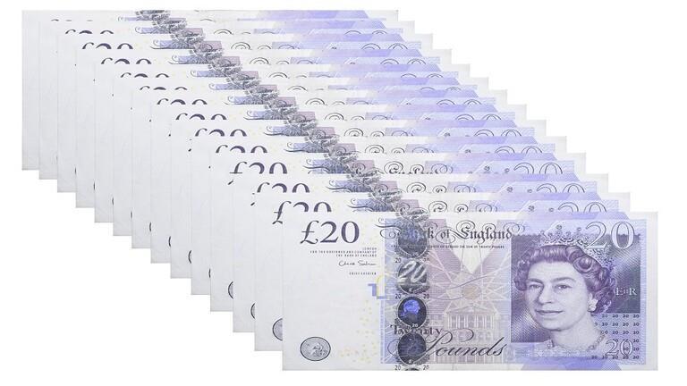 نقود بريطانية