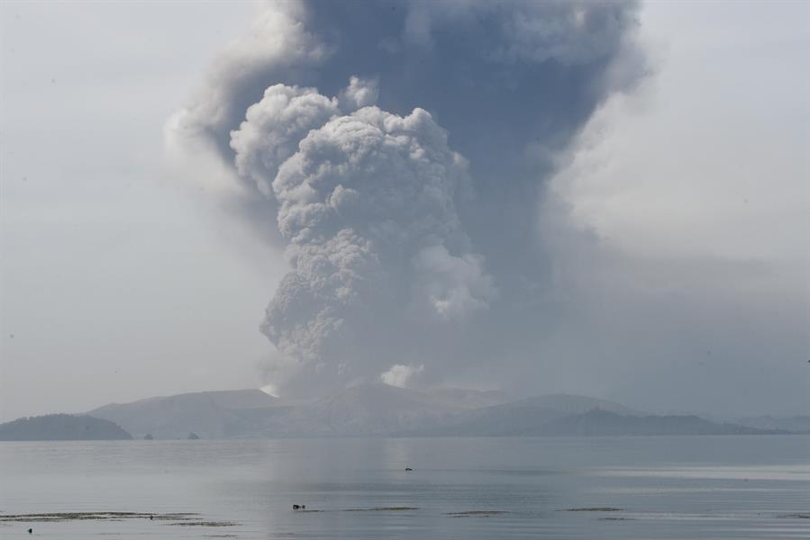 صور من البركان