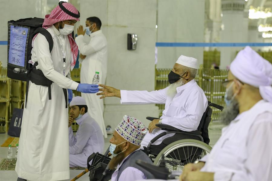 تزامناً مع عودة المصلين.. مصلى ومداخل للأشخاص ذوي الإعاقة بالمسجد الحرام