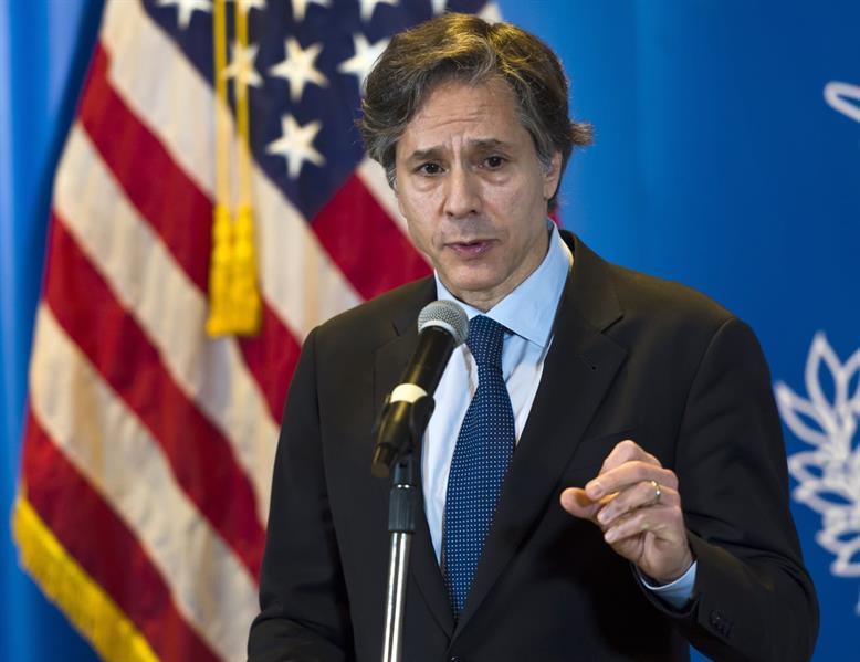 وزير الخارجية الأميركي: لن نقف مكتوفي الأيدي بينما يهاجم الحوثيون المملكة