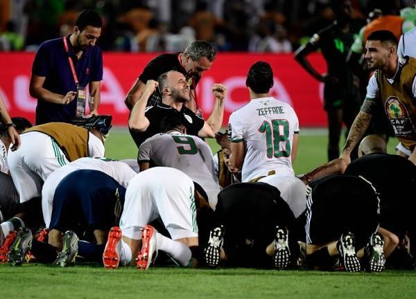 بلماضي بعد التأهل لنهائي أمم إفريقيا 2019: عانينا كثيرًا