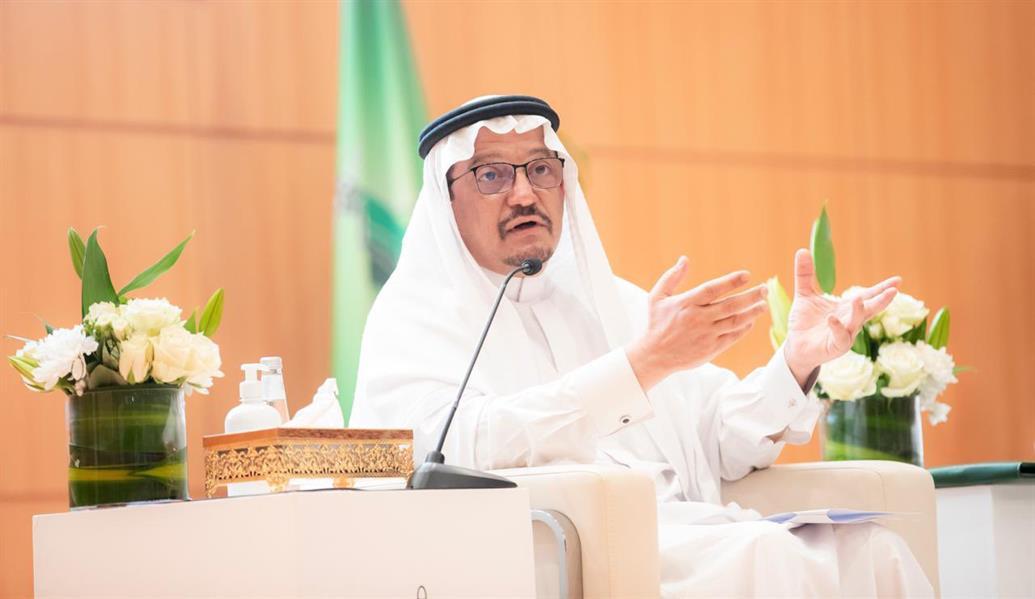 وزير التعليم الدكتور حمد بن آل الشيخ