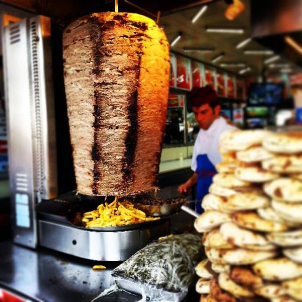 الشاورما التركية