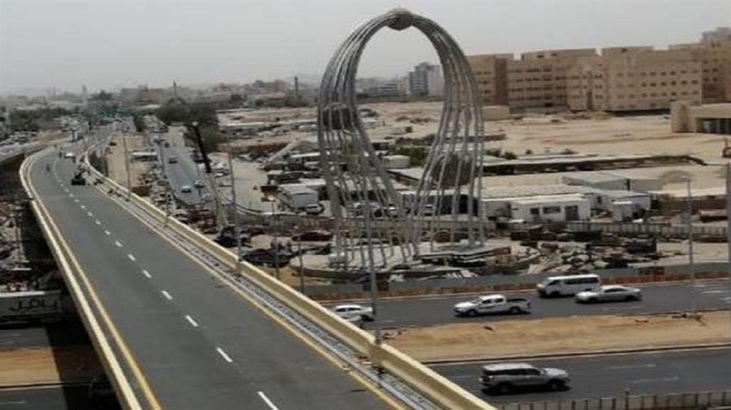 """فتح الحركة بتقاطع """"صاري"""" مع الملك فهد في جدة اعتباراً من الشهر المقبل"""