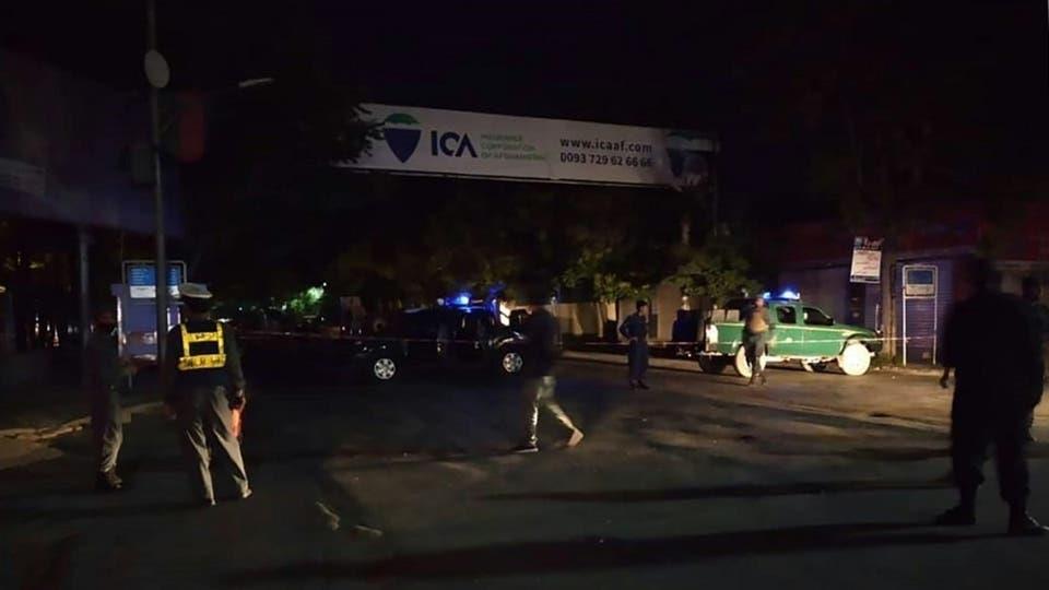 الهجوم الانتحاري الذي استهدف جامعاً شهيراً بالحي الدبلوماسي بالعاصمة الأفغانية