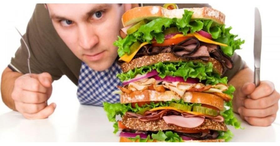 المبالغة في الأكل