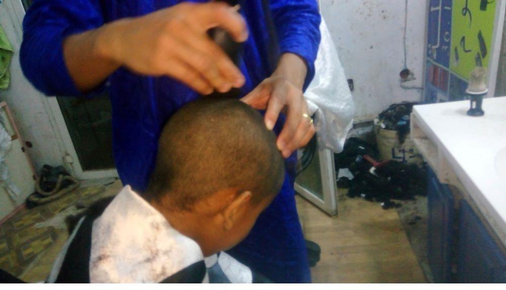 حلاقة الشعر
