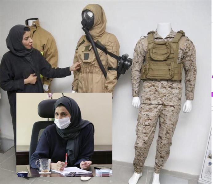 فيديو.. مواطنة تصمم زياً عسكرياً يحجب تحركات مرتديه عن أجهزة الرصد