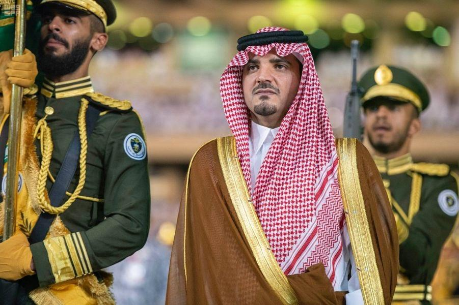 الأمير عبدالعزيز بن سعود يرعى حفل تخريج كلية الملك فهد الأمنية