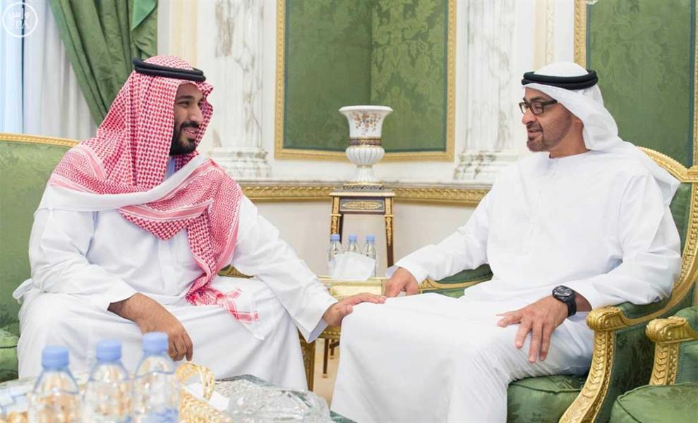 الأمير محمد بن سلمان يلتقي الشيخ محمد بن زايد ويتبادل الآراء حول عدد من القضايا والموضوعات