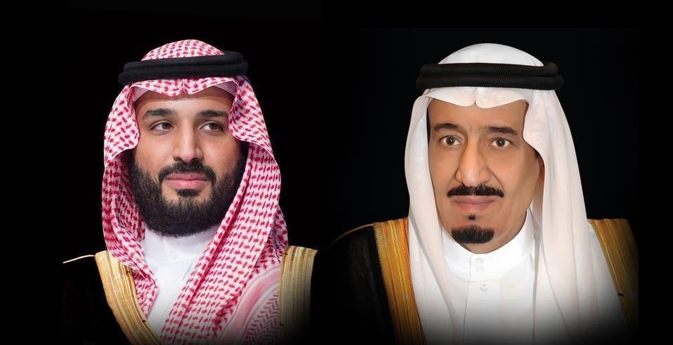 الملك سلمان والامير محمد بن سلمان