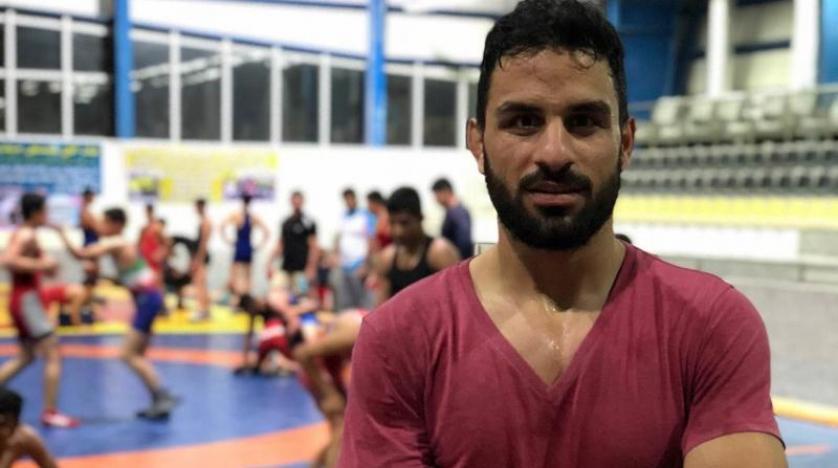 بطل المصارعة الايراني نويد افكاري