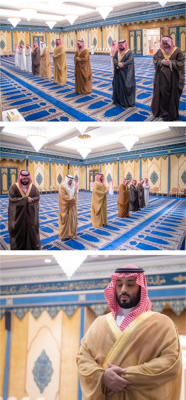 ولي العهد يؤدي صلاة الميت في المسجد الحرام على والدة الأمير محمد بن عبدالرحمن بن عبدالعزيز