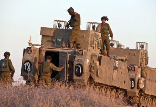تعزيزات صهيونية على تخوم غزة