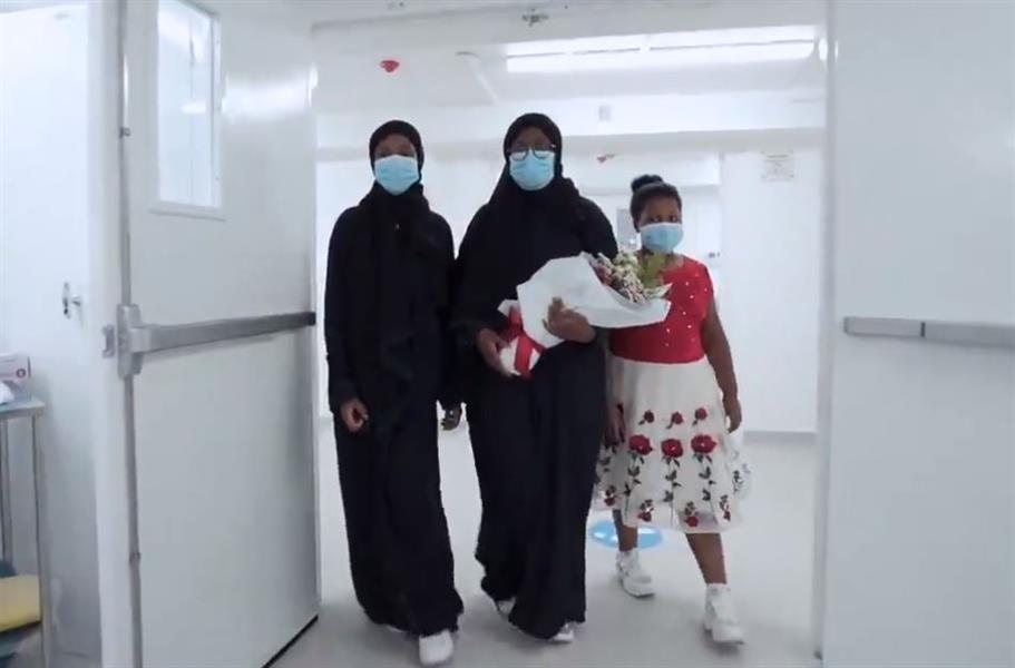 """عائلة الممرضة """"نجود"""" تزور المركز الطبي الذي سُمي باسمها تخليدًا لذكراها"""