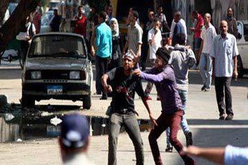 اشتباكات بساحة التحرير