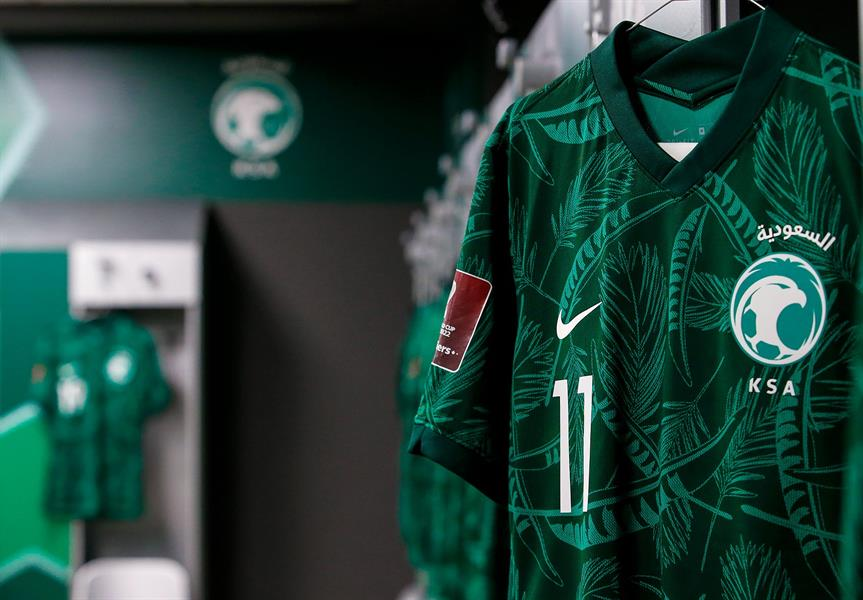 غرف ملابس المنتخب الوطني قبل مباراة سنغافورة
