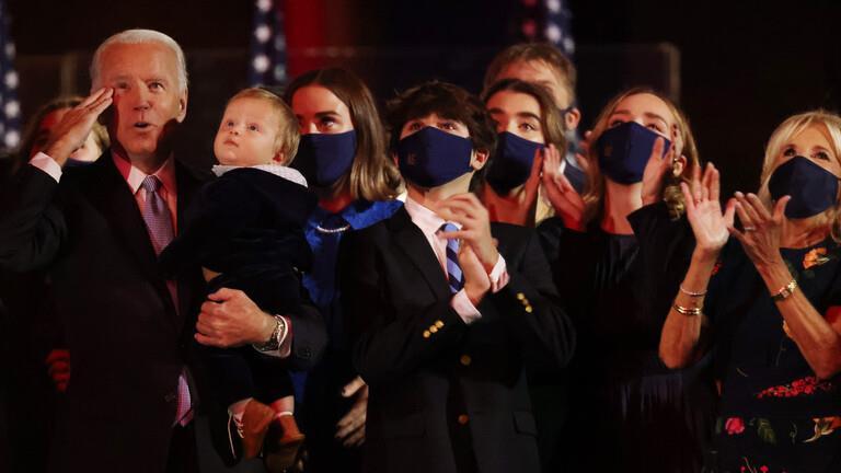 10 أفراد يمثلون العائلة الجديدة في البيت الأبيض.. وهكذا عانى بايدن خلال حياته