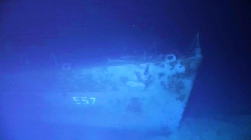العثور على حطام مدمرة أمريكية غرقت خلال الحرب العالمية الثانية قبالة الفلبين (صور)
