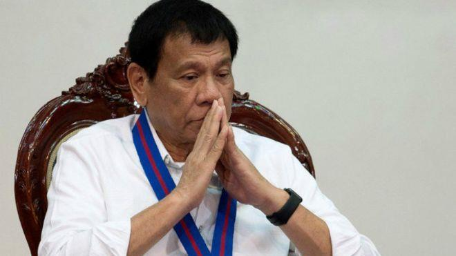 رئيس الفلبين: سأشتم أوباما لو أثار قضية أسلوبي في مكافحة المخدرات