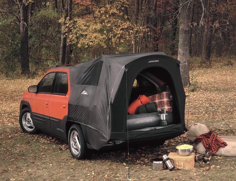 """بونتياك آزتيك كامبينج باك – """"Pontiac Aztek camping pack"""""""