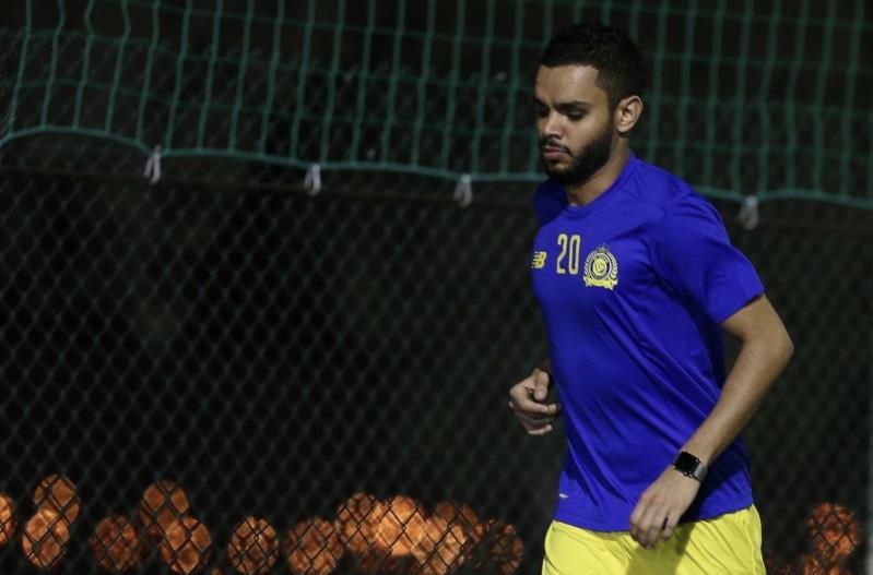 Image result for عبد الله الأسطا  لاعب النصر 2018