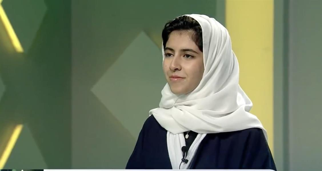 طالبة فائزة بالمركز الثالث بمعرض إبداع 2021 تتحدث عن مشروعها والهدف منه (فيديو)