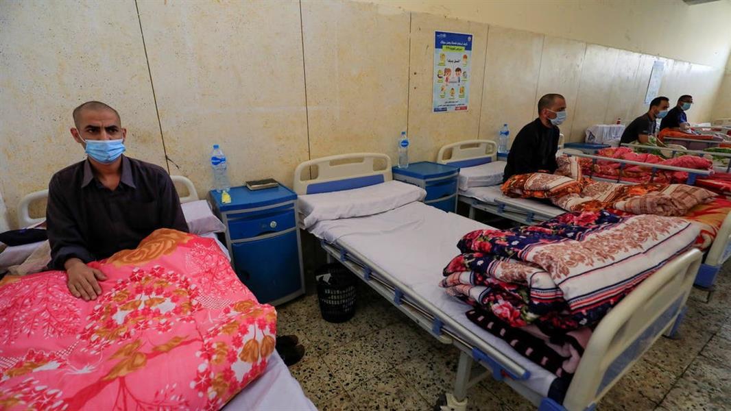 تحسبا لأسوأ غرف عزل لضحايا الفطر الأسود في مصر