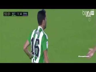 ريال بتيس (1 - 6) ريال مدريد الدوري الاسباني